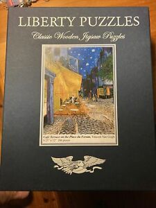 Liberty Puzzles Classic Wooden Jigsaw Puzzles Van gogh complete