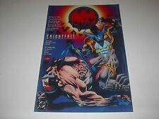 DC COMICS FAMOUS COVERS BATMAN KNIGHTFALL BANE #500 POSTER PIN UP