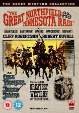 DVD:THE GREAT NORTHFIELD MINNESOTA RAID (GREAT WESTERN COLL - NEW Region 2 UK