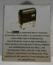New listing Excelmark Stamp Premiere Self-Inking Stamps A-1539 (Received)