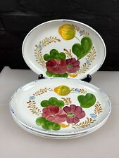 More details for 4 x vintage simpsons chanticleer belle fiore oval steak dinner plates 11