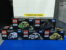 NEW TAKARA TOMY TOMICA STAR WARS CARS SET OF 5 SC-01, SC-02, SC-03, SC-04, SC-05