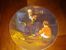 Knowles Norman Rockwell The Tycoon # 12721