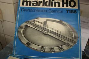 MÄRKLIN H0 7186 ELEKTRISCHE DREHSCHEIBE   OVP! MD12