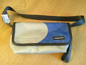 FREITAG * SURFSIDE 6 * F42 * Messenger Bag * Silber * Blau
