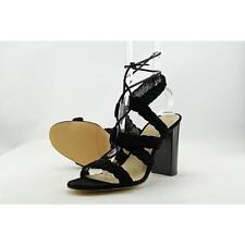 BCBGeneration Lorette-X Women US 9 Black Sandals Pre Owned  1516
