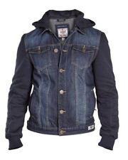 Men's Other Button Cotton Hip Length Coats & Jackets