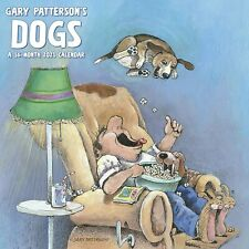 GARY PATTERSON'S DOGS 2021 WALL CALENDAR 12x12/16 month