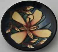 Moorcroft Pottery Panache Dish / Tray Designed By Sian Leeper (Flowers / Floral)