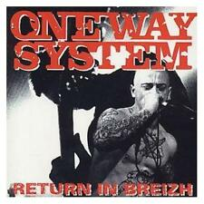 One Way System Return In Breizh Live France 1996 CD NEW Punk Oi! Stab The Judge