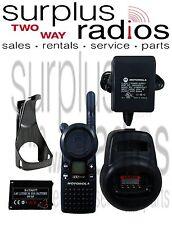 Used Motorola CLS1410 4 Channel UHF two Way Business Radio