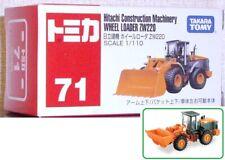 1/110 Tomica #71 HITACACHI Construction Machinery WHEEL LOADER ZW220 @