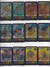 1996 Spacix Bounty Coralia 12 Card 3D Collectible Card Game Set