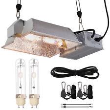 New listing Hydroponics Cmh 630W Grow Light Kit w/2x 3100K Bulb + Digital Ballast &120V Plug