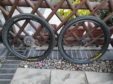 Mavic X117/ Shimano Xt Hub Disc Wheels Includes Shimano Cassette And Tyres