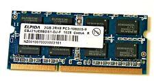 Elpida EBJ21UE8BDS1-DJ-F 2GB 2Rx8 PC3-10600S DDR3 Memory RAM - HP 598856-001 USA