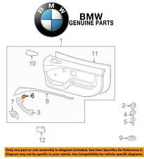 NEW BMW E36 Z3 96-02 318ti 95-99 Black Door Cap Cover OEM Genuine 51411903734