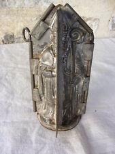 Moule à chocolat vers 1900, Saint Nicolas, complet avec ses clefs