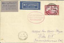 Graf ZEPPELIN -HANNOVER FLIGHT 1931-RETURN-HANNOVER 14/6/31-fligh