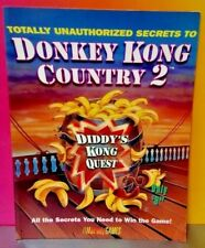 Totally Unauthorized Secrets To Donkey Kong Country 2 Strategy Guide Book SNES