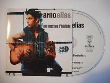 ARNO ELIAS : UNE QUESTION D'HABITUDE [ CD SINGLE PORT GRATUIT ]
