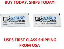 2PC LOT 0.5G High Performance Silver Thermal Paste Grease Compound CPU GPU Gray