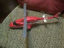 "Vintage State police Traffic Control Ertl Helicopter Die Cast Metal 15""L"