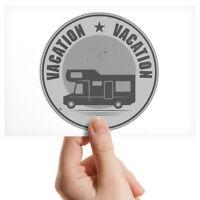 "Photograph 6x4"" BW - Camper Van Bus Motorhome Camping  #40699"