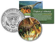 Troodon * Collectible Dinosaur * Jfk Kennedy Half Dollar U.S. Colorized Coin