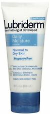Lubriderm Daily Moisture Lotion Fragrance Free 3 oz