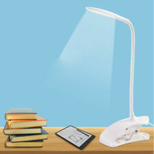 1x LED Lampe Lecture USB Table Bureau Étudiant Flexible Avec Pince Clip Réglable