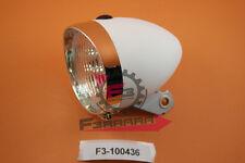 F3-100436 Fanale Anteriore VINTAGE 3 LED Bianco Bicicletta Bici Ciclo