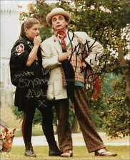 DOCTOR WHO AUTOGRAPHS *SOPHIE ALDRED & SYLVESTER MCCOY* HAND SIGNED 10X8 PHOTO