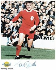 TOMMY SMITH - LIVERPOOL - SIGNED AUTOGRAPHED EDITIONS PHOTOGRAPH - UACC RD/AFTAL