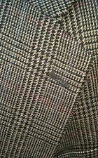 New Jos A. Bank 44R Blazer Sport Red Blue Glen Plaid Tweed 100% Wool Jacket 44R