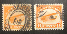 TDStamps: US Airmail Stamps Scott#C1 (2) Used