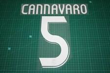 Real Madrid 06/07 #5 CANNAVARO Awaykit / 3rd Awaykit Nameset Printing