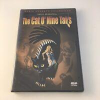 Cat O' Nine Tails [1971] DVD (2001, Anchor Bay) Dario Argento NEW SEALED