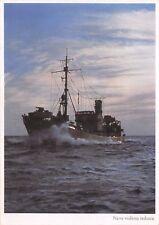 C7096) RSI MARINA, CARTOLINA DAL CALENDARIO TEDESCO 1944 NAVE VEDETTA TEDESCA.
