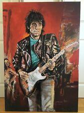 Ronnie Wood Signed Limited Edition Print Self Portrait - Wa Wa Wood