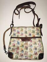 DOONEY & BOURKE Multi-Color Signature Logo Crossbody Handbag/Purse