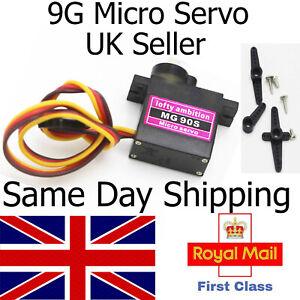 Metal Gear High Speed 9g Micro Servo Digital MG90S Car RC Helicopter Plane UK RC