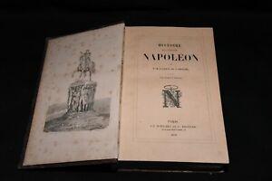 Livre ancien Histoire de l'Empereur  Napoléon 1859 De Lardèche et Horace Vernet