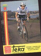 MARC GOOSSENS cyclisme Signed TEKA autographe cycling ciclismo team Santander
