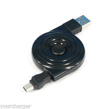 3ft 1m Retractable mini USB cable 4 Nikon D4s D4 D90 D610 D3100 D7000 UC-E4 E15