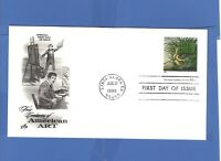 FIRST DAY ISSUE JOHN JAMES AUDOBON STAMP 1998 FDC  FOUR CENTURIES AMERICAN ART