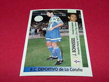 J. BONNISSEL DEPORTIVO LA CORUNA  PANINI LIGA 96-97 ESPANA 1996-1997 FOOTBALL