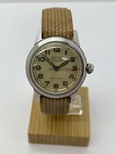 Vintage Olympic Manual Wind Military Style Men's Watch