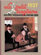 Intégrale des couvertures Petit Vingtième - Année 1937. Album cartonné - Neuf
