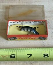 g) Vintage Kautzky Lazy Ike Fly Ike Fishing Lure with Kl-009 Bl Rib Box